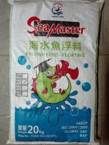 SeaMaster F01 Fin Fish Feed Pellet 1.2mm 20kg