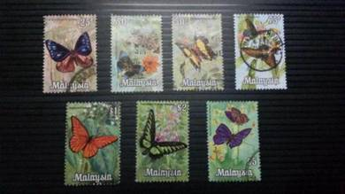 Antik Old Stamps Malaysia Butterflies 1970 No 6