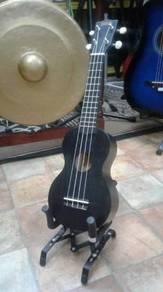 Ukulele Soprano- Black -