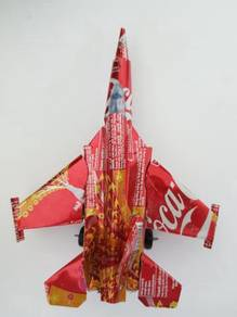 Coca-cola Handmade Jet Figther Model