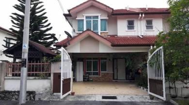 1K Deposit Double Storey Terrace End Lot Wt Land Tmn Pelangi Semenyih