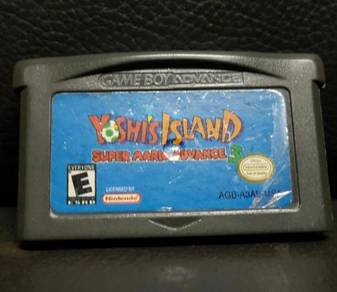 Gameboy Super Mario Advance 3: Yoshi's Island