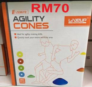 (READY STOCK) 20 Pieces AGILITY CONE ( HELP SPEED,