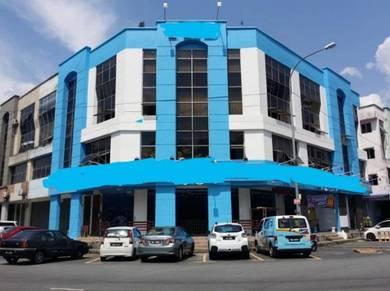 4 storey Shop/Office, Fully furn&Renovation, Prima Selayang Batu Cave