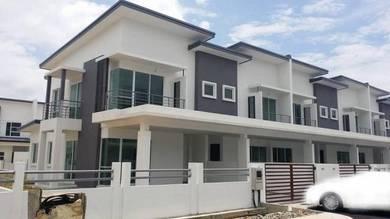 Bukit Berangan,Samarahan,New double storey terrace corner