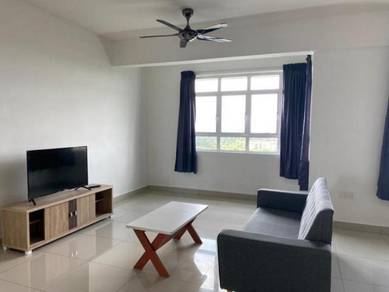 Perling height , perling , nearby aeon , full furnished , low rental