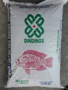 Dindings 921 Grower Fish Pellet 3mm 20kg