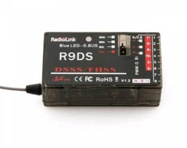 Upgraded RadioLink AT9-R9DS R9DS 2.4GHz 9CH DSSS