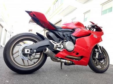 Ekzos SBK GP1 Ducati Panigale 899 exhaust