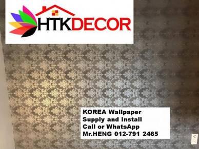 PVC Vinyl Wall Paper for various environment 254PO