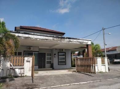 1 Storey Corner House, Kampar Putra, 0 downpayment