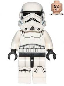 Lego SW 585 Stormtrooper (Printed Legs, Dark Blue)