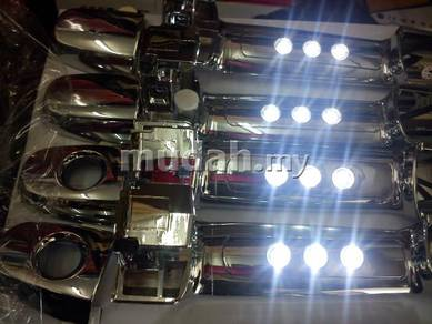 Myvi alza vios chrome handle with led light