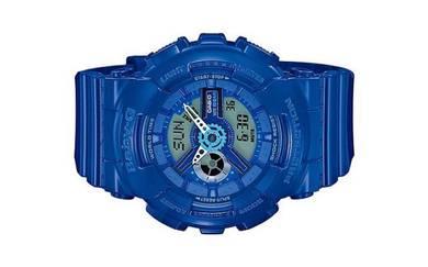 Casio Baby-G Ladies Blue Sport Watch BA-110BC-2ADR