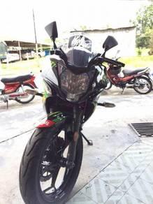 2015 ninja 250 sl tip top condition