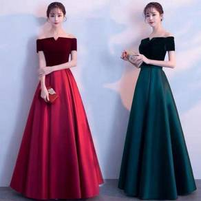 Red black green prom dress gown RBP0926