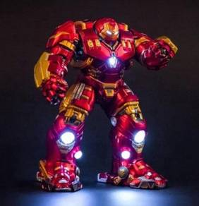 Age of Ultron Hulkbuster 27cm LED toy statue