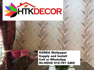 Novel Designs with Wall Paper decoration 219UV
