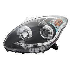 Eagle eyes myvi head lamp led ring w projector