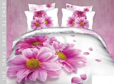 Reactive printed bedding roses wedding