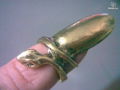 ABRB-S011 Bronze Girl Ladies Cool Nail Ring -Snake