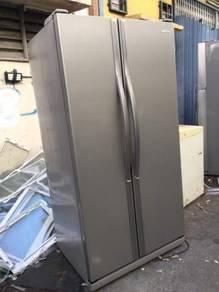 Side by Side Refrigerator Samsung Peti Sejuk Ais
