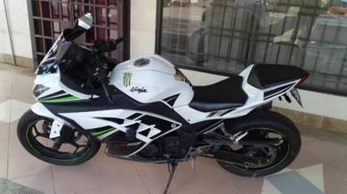Kawasaki Nina 250se PEMBORONG MOTOSIKAL TERPAKAI