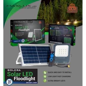 Maxlux Solera SOLAR LED Floodlight IP65 Waterproof