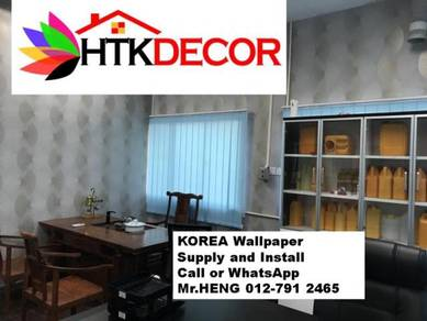 Sale and installation of Wall paper 287WY