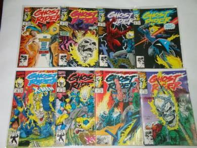 GHOST RIDER. 1990 series. issue 26-50. 1-set