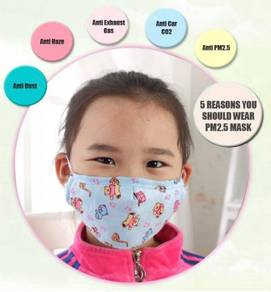 Kids Cotton mask with Carbon Filter (PM2.5)