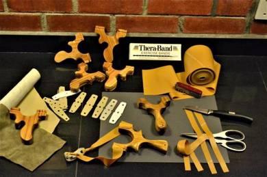 THERABAND for lastik catapult slingshot