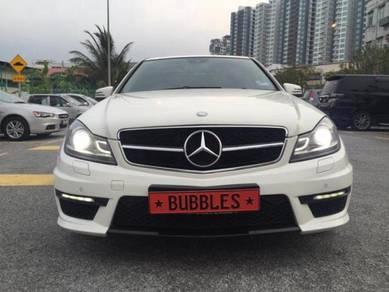 Mercedes c-klass w204 facelift AMG STYLE conversio