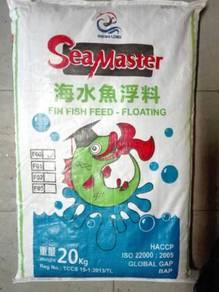 SeaMaster F00 Fin Fish Feed Pellet 0.7mm, 20kg