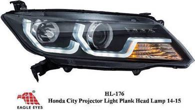 Honda city gm6 projector headlamp head lamp light