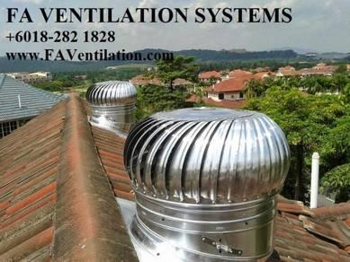 FA HBGN12 Solar / Wind Air Vent / Exhaust Fan (US)