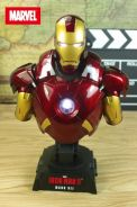 Hottoy IRON MAN LED MK7 MK46 half body figure