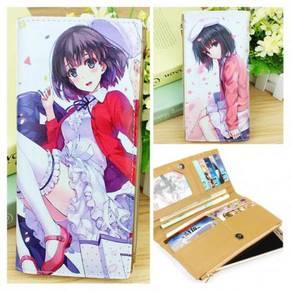 Anime Saekano PU leather wallet