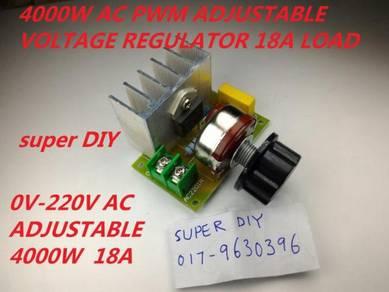 AC 220V 4000W Voltage Regulator Voltage Controller