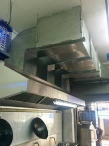 Restaurant Kitchen Hood & Exhaust System
