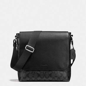 Coach CHARLES SMALL MESSENGER IN SIGNATURE 54771
