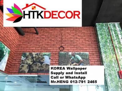 Modern wallpaper designs with installation 227DC