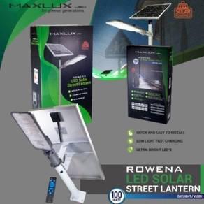 Maxlux rowena led solar street lantern 100w