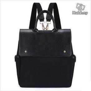 Korean Dual Use College Style Sling Bag Backpack