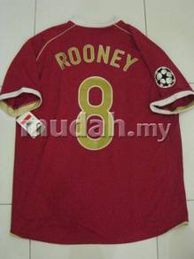 Manchester United Home Shirt 06-07 UCL Rooney L
