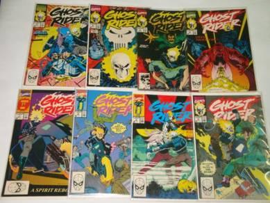 GHOST RIDER. 1990 series. issue 1-25. 1-set