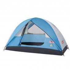 17RAGg Coleman Sundome 4P Tent (Cyan)