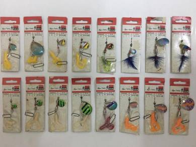 DAM Lure Fishing Spinner Spoon Gewang Frog Casting