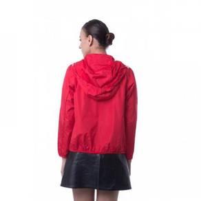Jaket Hood Hoodie Hoody Jacket Red Merah RJ712