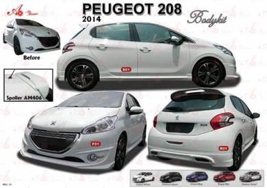 Peugeot 208 2014 2018 Bodykit body kit skirt lip